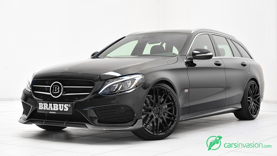 2015 BRABUS Mercedes-Benz C-Class AMG Wagon Front Angle