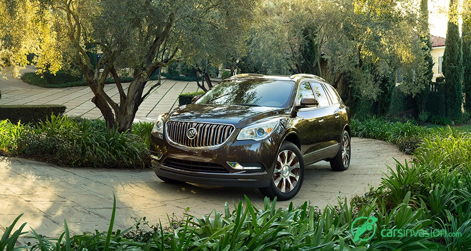2016 Buick Enclave Tuscan Edition Front Angle