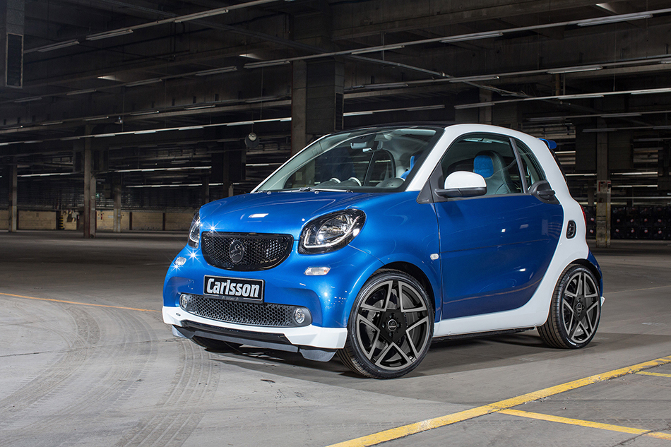 2015 Carlsson Smart CK10 Front Angle