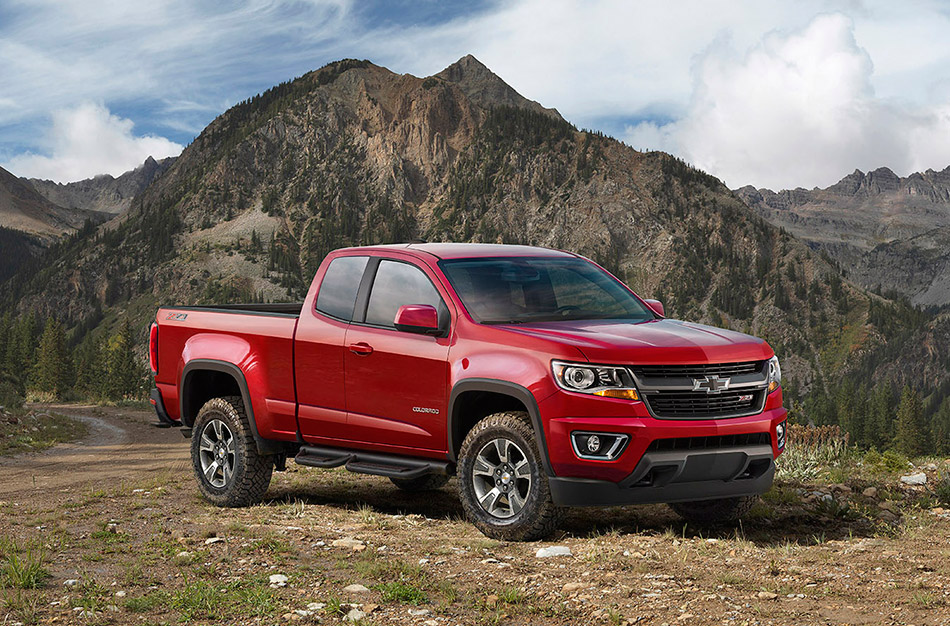 2015 Chevrolet Colorado Z71 Trail Boss Edition Front Angle