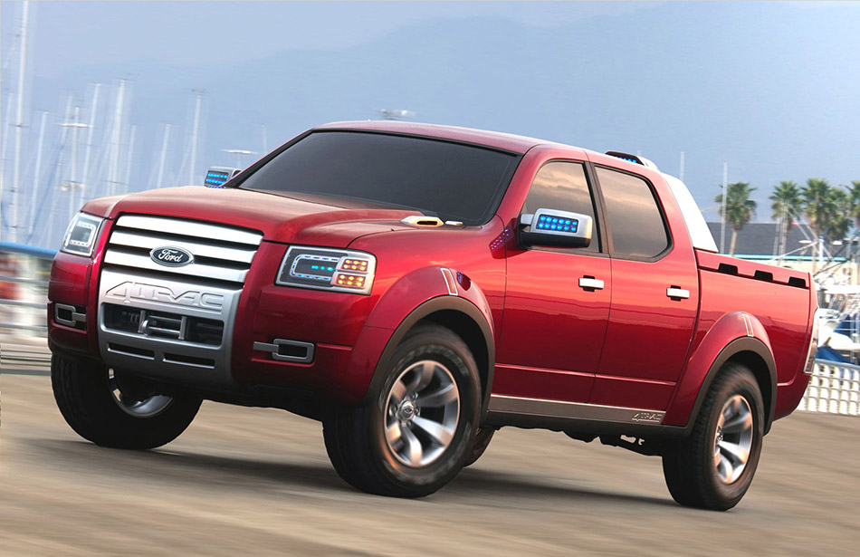 2006 Ford 4-Trac Concept Front Angle