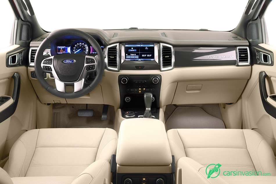 2016 Ford Everest Interior