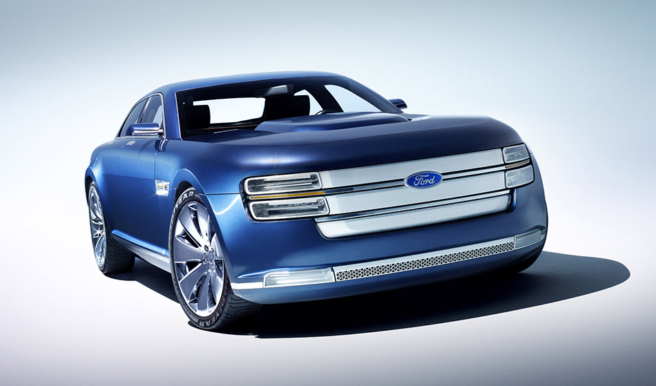2007 Ford Interceptor Concept Front Angle