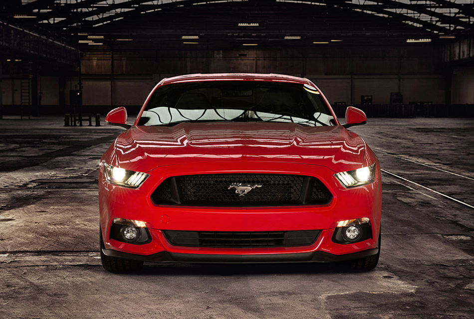 2015 Ford Mustang EU-Version Front