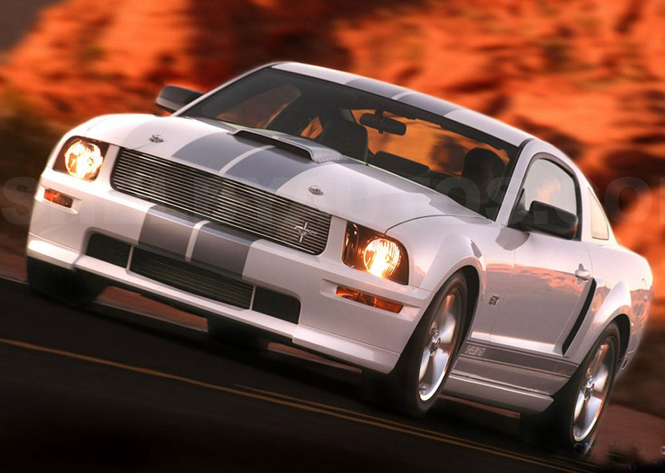 2007 Ford Mustang Shelby GT Front Angle