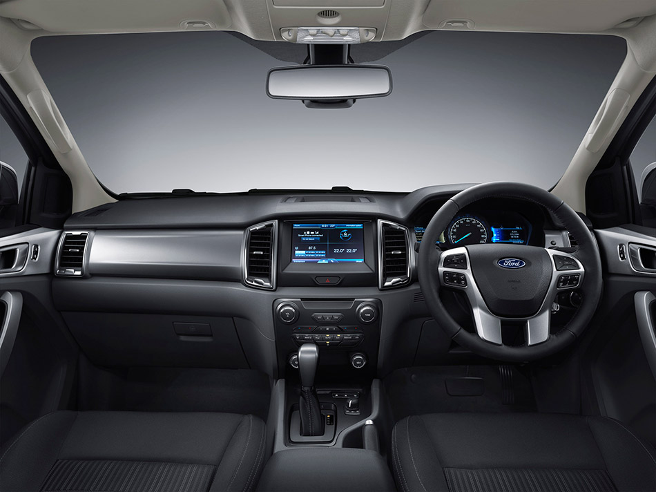 2015 Ford Ranger Facelift Interior