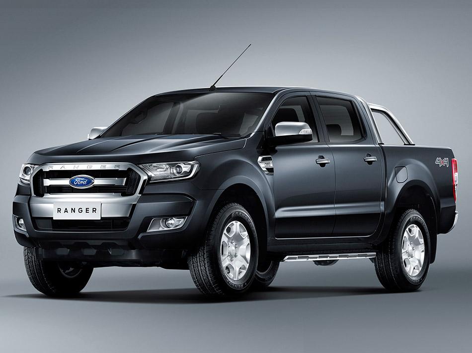 2015 Ford Ranger Facelift Front Angle