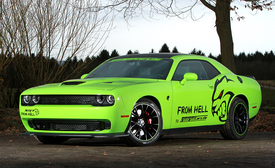 2015 GeigerCars Dodge Challenger SRT Hellcat Front Angle