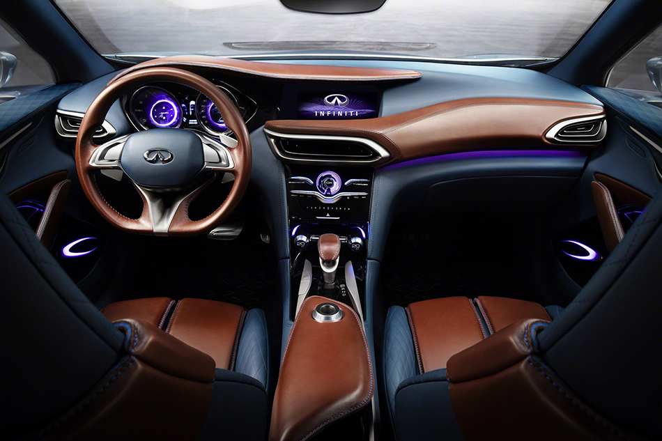 2015 Infiniti QX30 Concept Interior