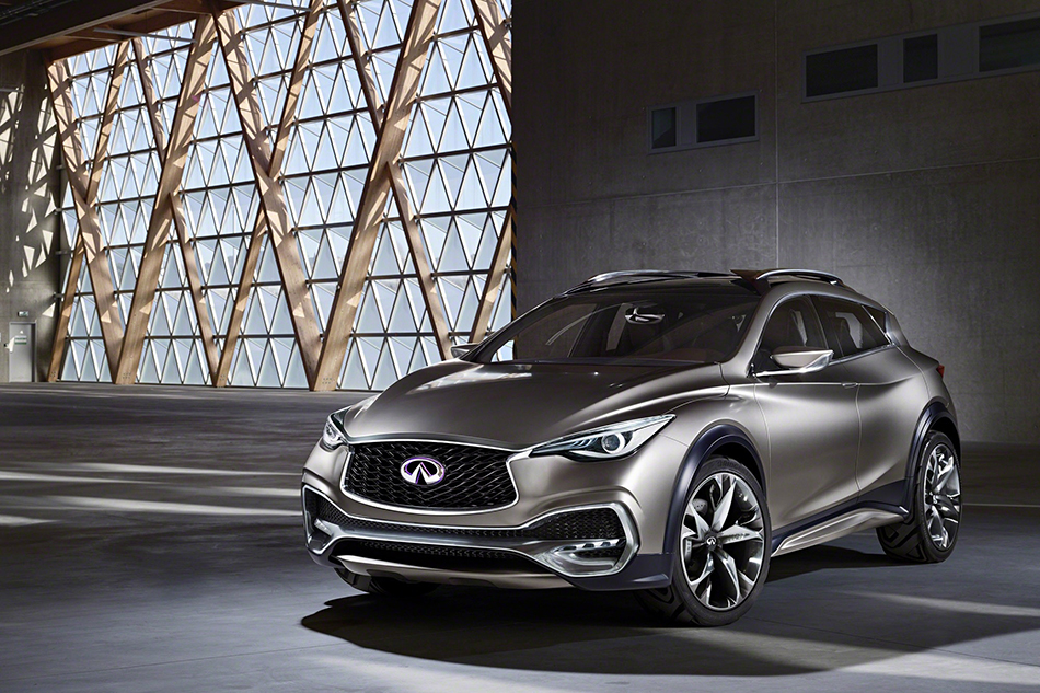 2015 Infiniti QX30 Concept Front Angle
