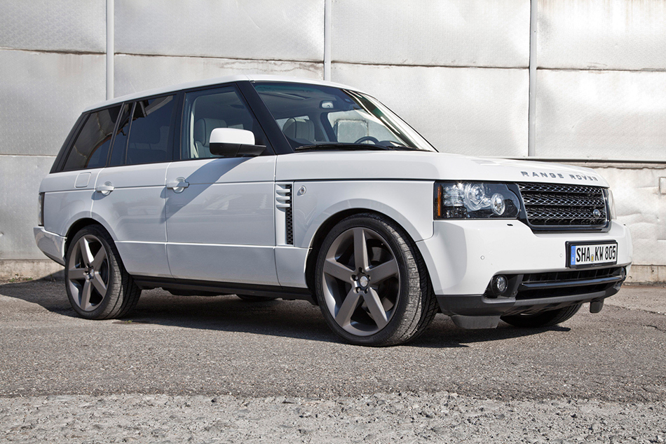 2015 KW Range Rover Front Angle