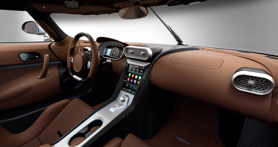 2015 Koenigsegg Regera Interior
