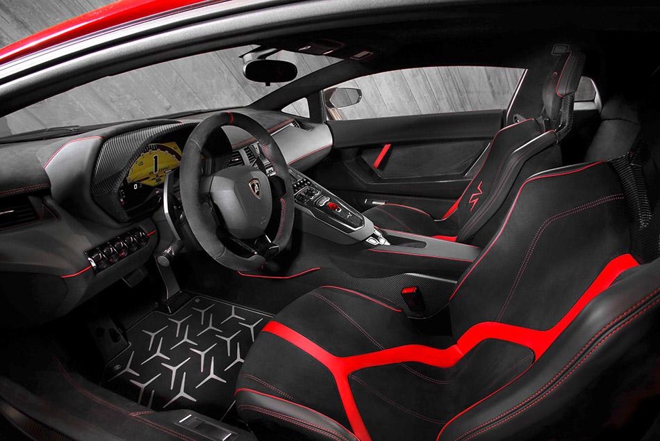 2016 Lamborghini Aventador LP750-4 Superveloce Interior