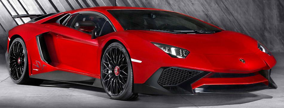2016 Lamborghini Aventador LP750-4 Superveloce Front Angle
