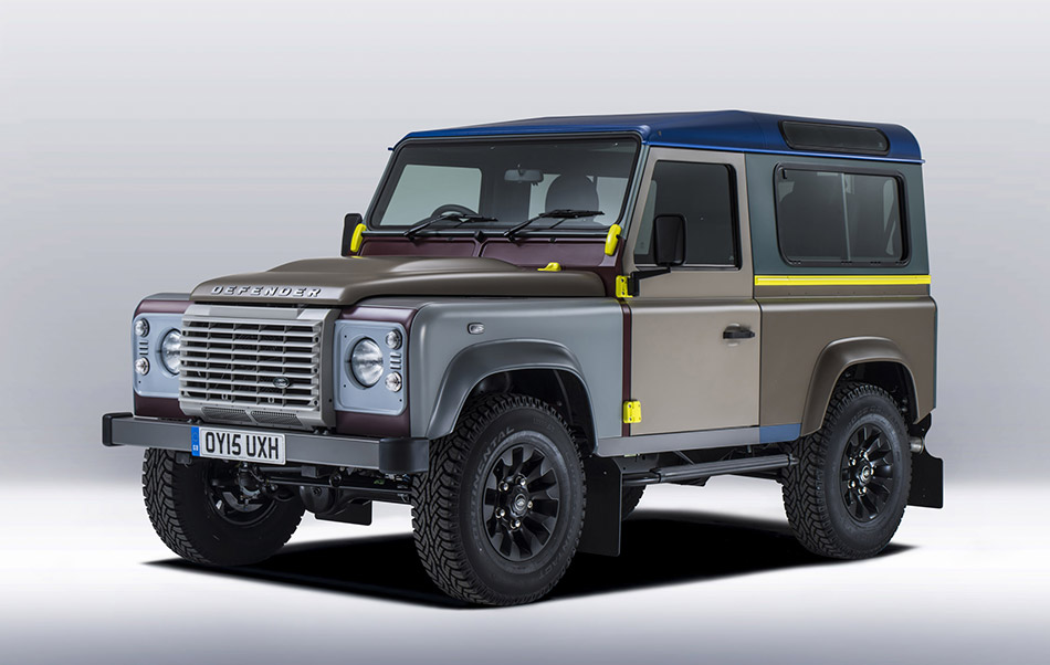 2015 Land Rover Defender Paul Smith Special Edition Front Angle