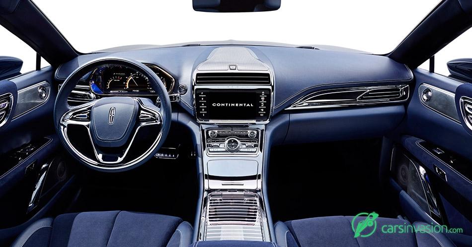 2015 Lincoln Continental Concept Interior