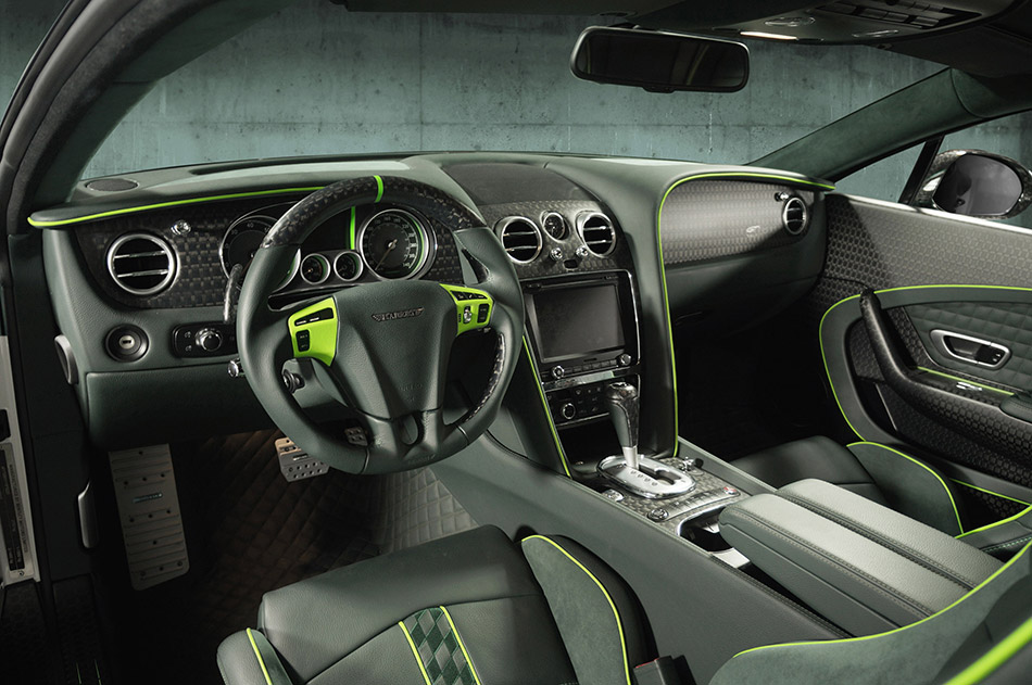 2015 Mansory Bentley Continental GT Race Interior