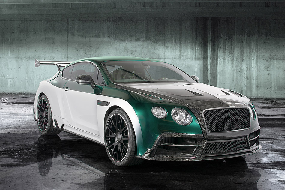 2015 Mansory Bentley Continental GT Race Front Angle