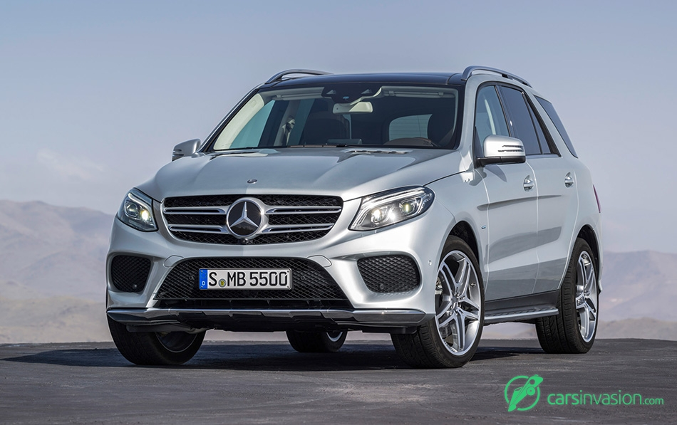 2016 Mercedes-Benz GLE Front Angle