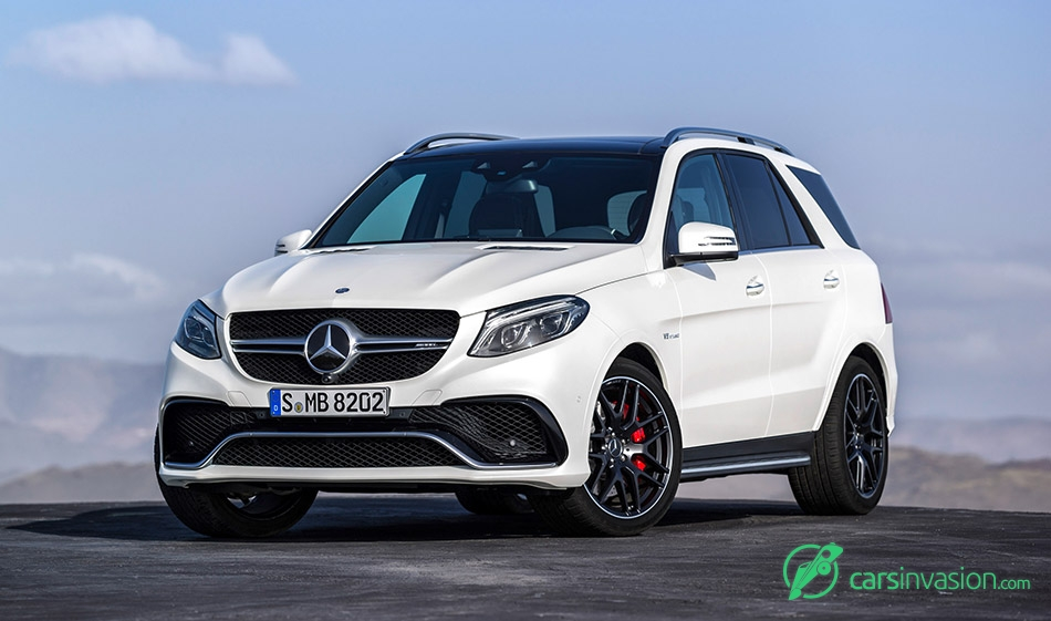 2016 Mercedes-Benz GLE 63 AMG Front Angle