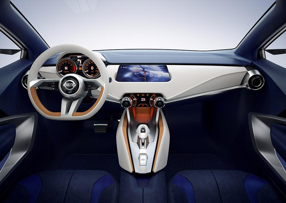2015 Nissan Sway Concept Interior