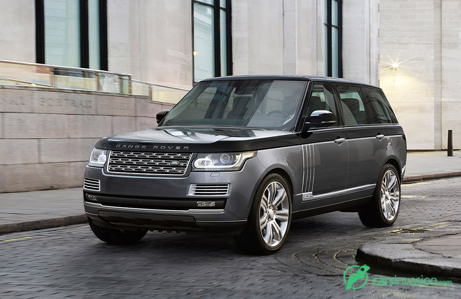 2016 Range Rover SVAutobiography Front Angle