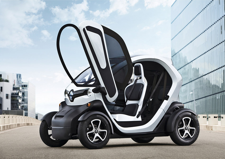 2015 Renault Twizzy 45 Front Angle