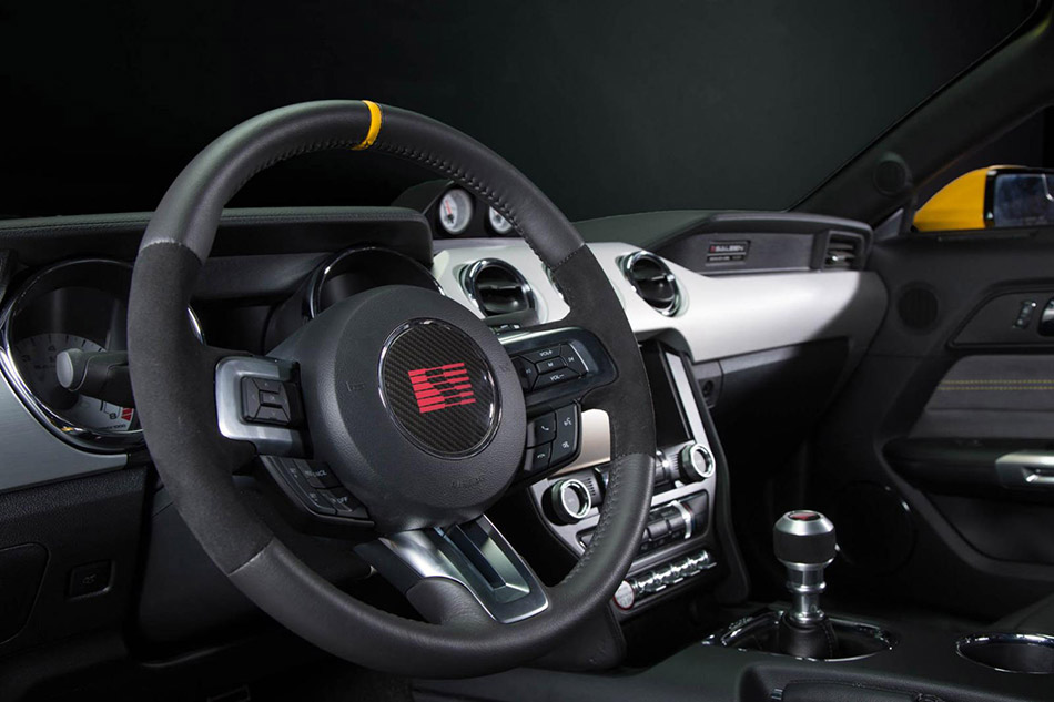 2015 Saleen Ford Mustang S302 Black Label Interior