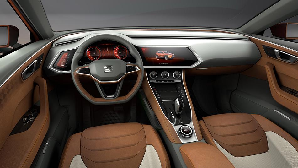 2015 Seat 20V20 Concept Interior