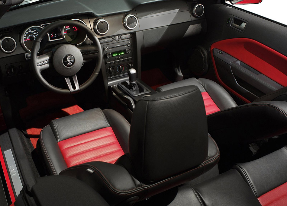 2007 Shelby Ford Mustang GT500 Interior