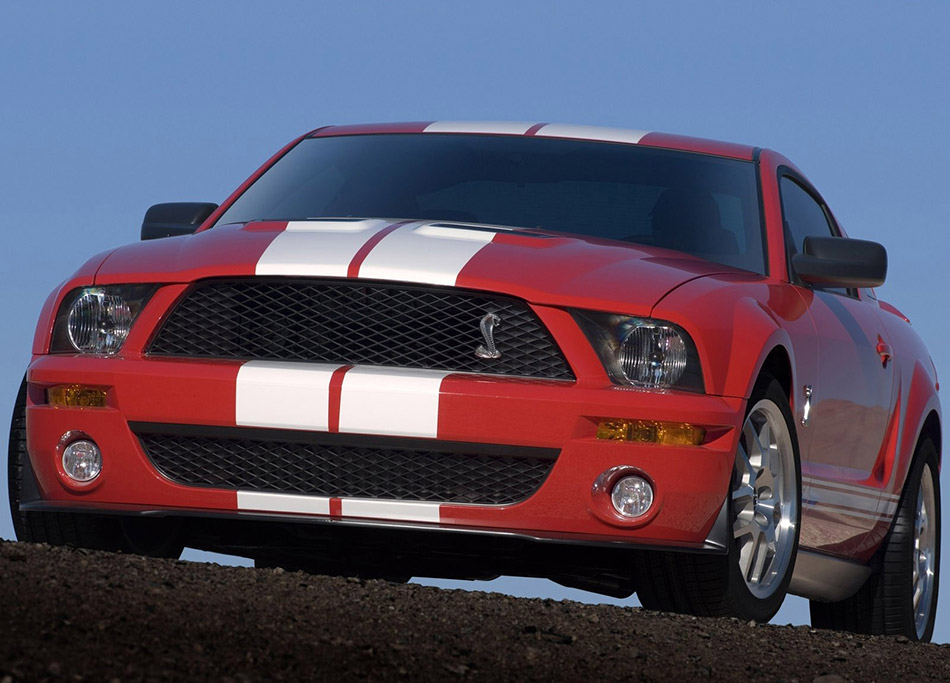 2007 Shelby Ford Mustang GT500 Front Angle
