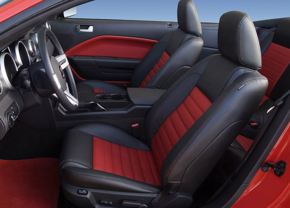 2007 Shelby Ford Mustang GT500 Convertible Interior