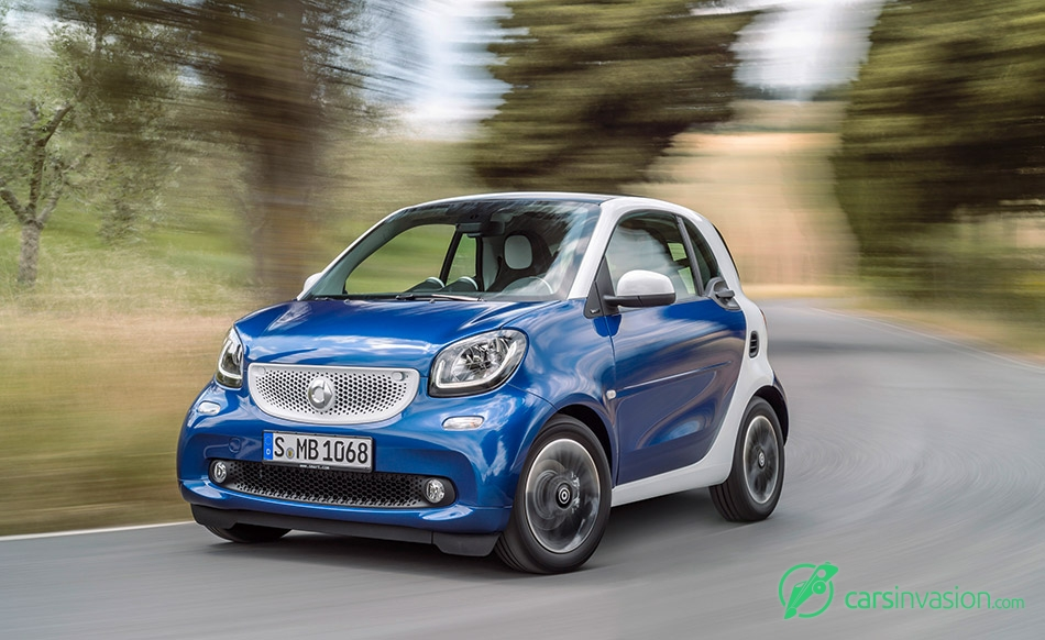 2016 Smart ForTwo Front Angle
