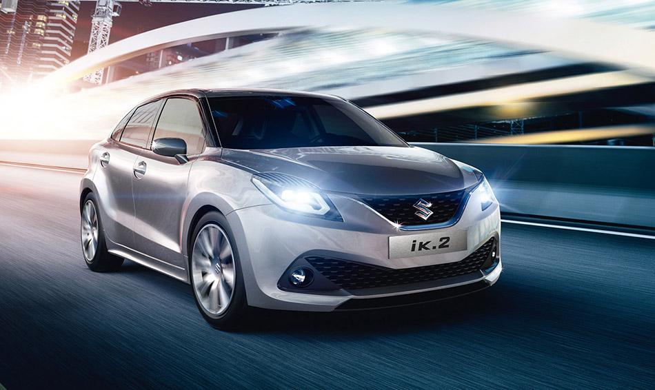 2015 Suzuki iK-2 Concept Front Angle