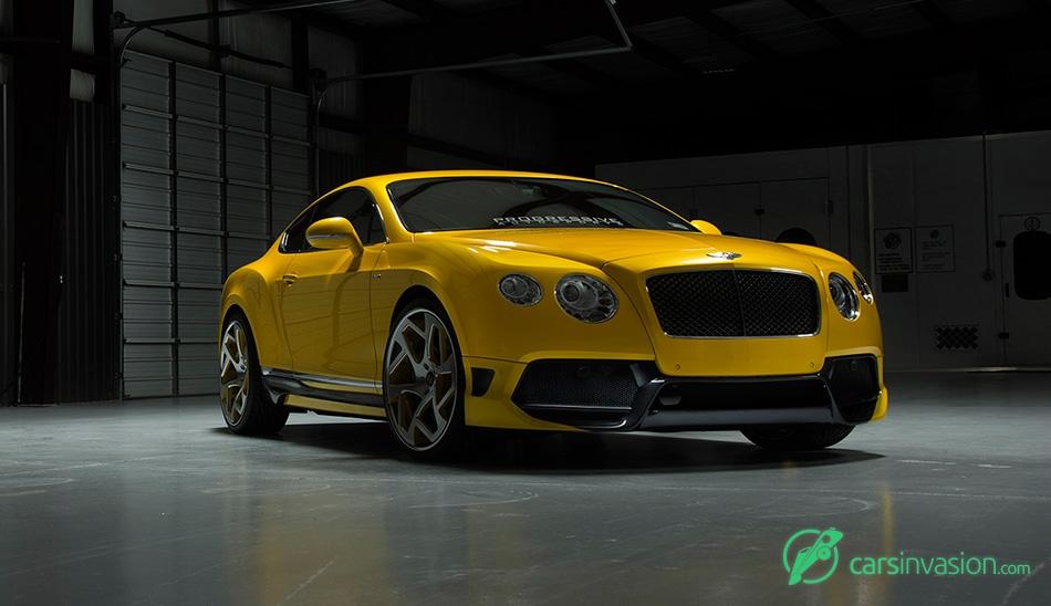 2015 Vorsteiner Bentley Continental GT BR10RS Front Angle