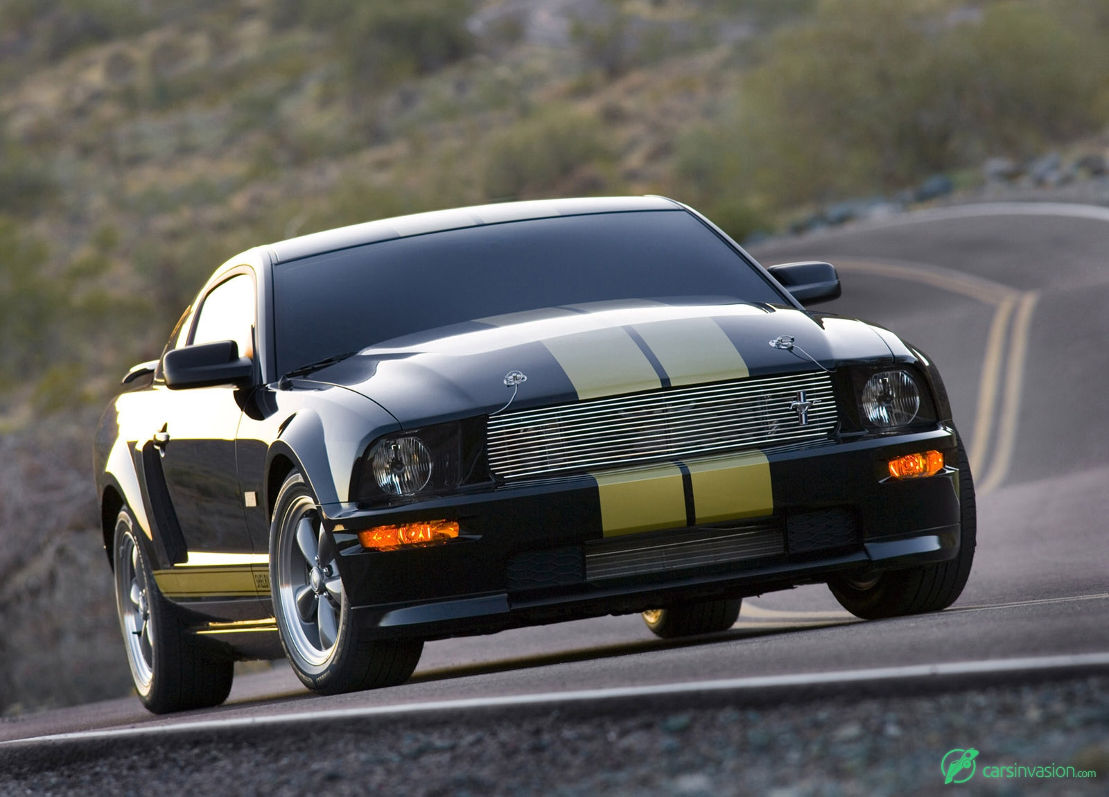 2006 ford mustang shelby gt h front angle
