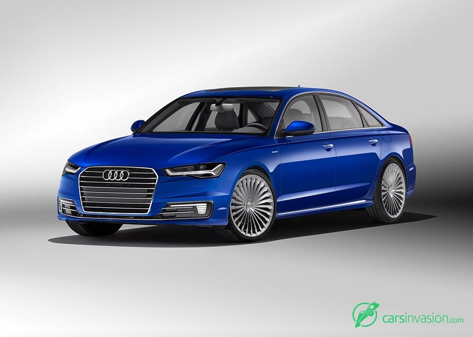 2017 Audi A6L e-tron Front Angle