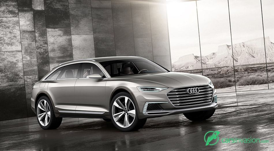 2015 Audi Prologue Allroad Concept Front Angle