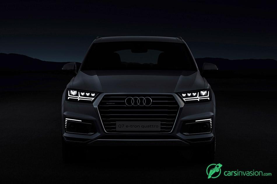 2017 Audi Q7 e-tron 2.0 TFSI quattro Front