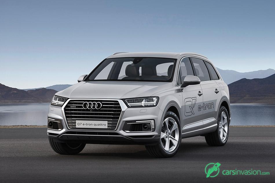 2017 Audi Q7 e-tron 2.0 TFSI quattro Front Angle