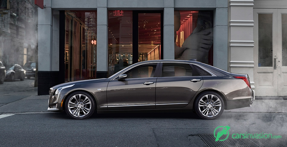 2016 Cadillac CT6 Side