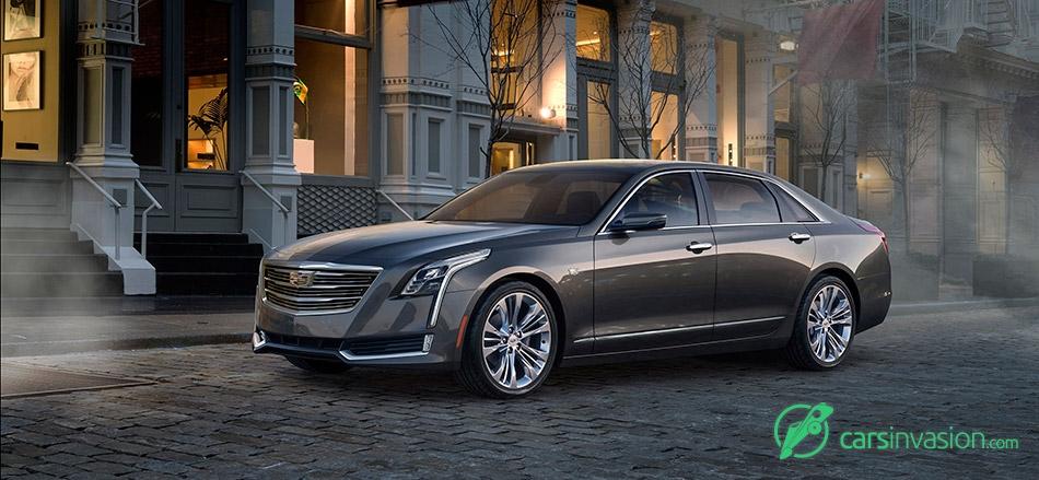 2016 Cadillac CT6 Front Angle