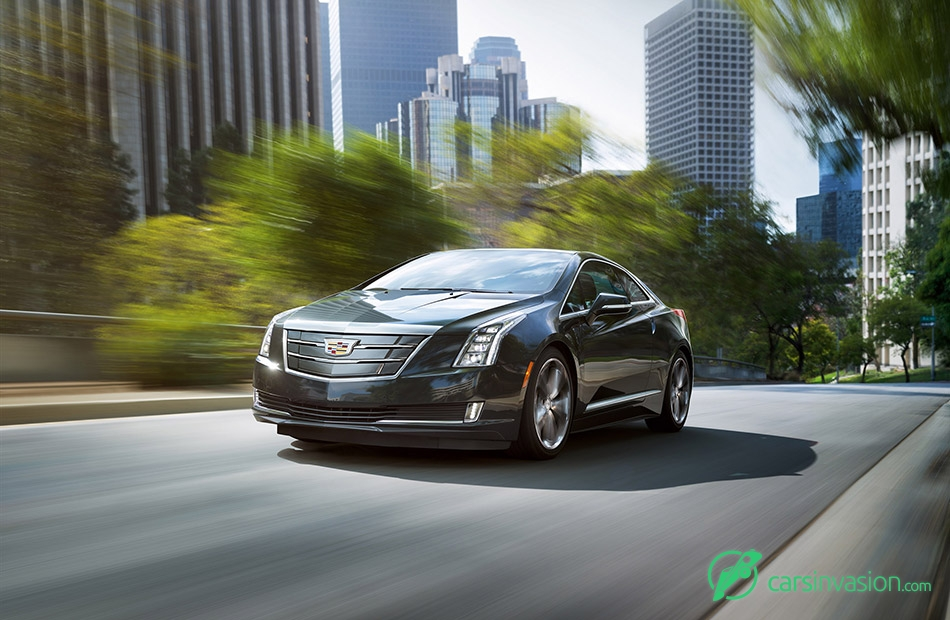 2016 Cadillac ELR Front Angle