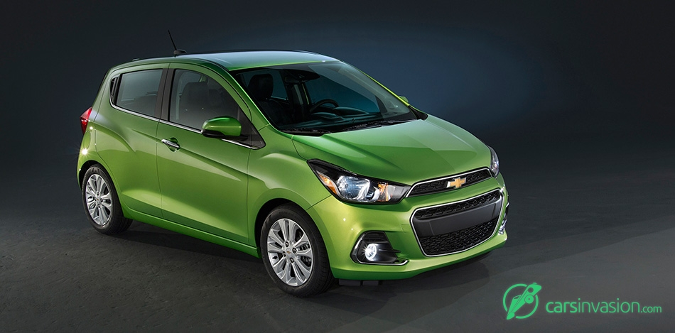 2016 Chevrolet Spark Front Angle