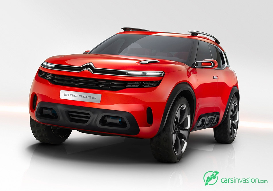 2015 Citroen Aircross Concept Front Angle