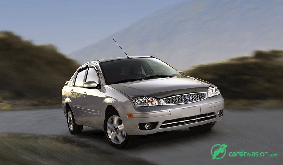 2006 Ford Focus Front Angle