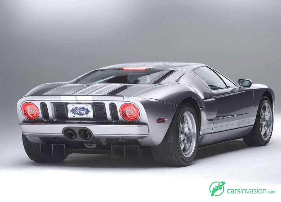 2006 Ford GT Rear Angle
