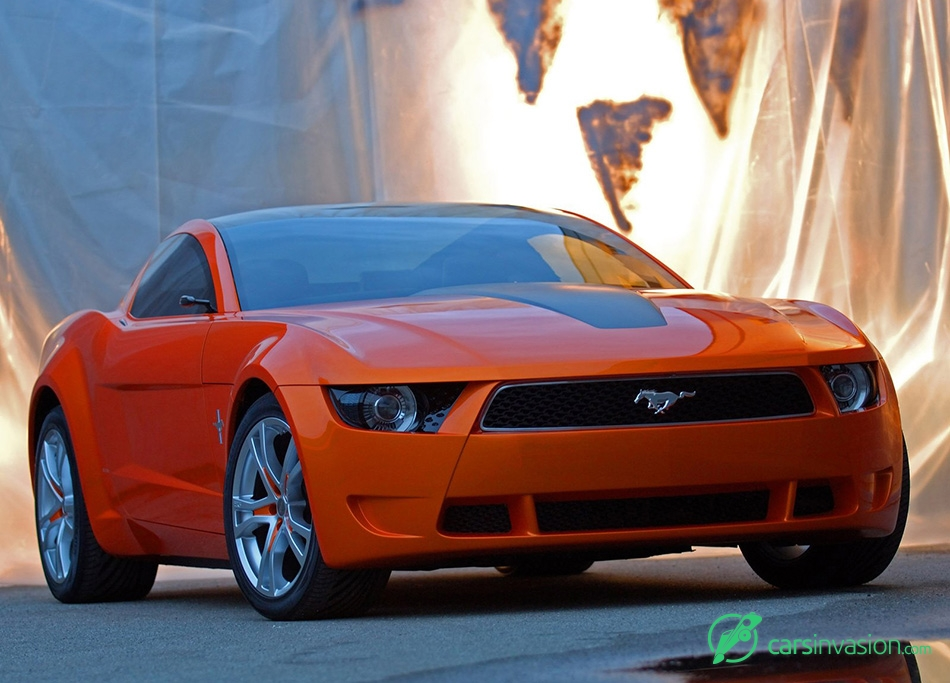 2006 Ford Mustang Giugiaro Concept Front Angle