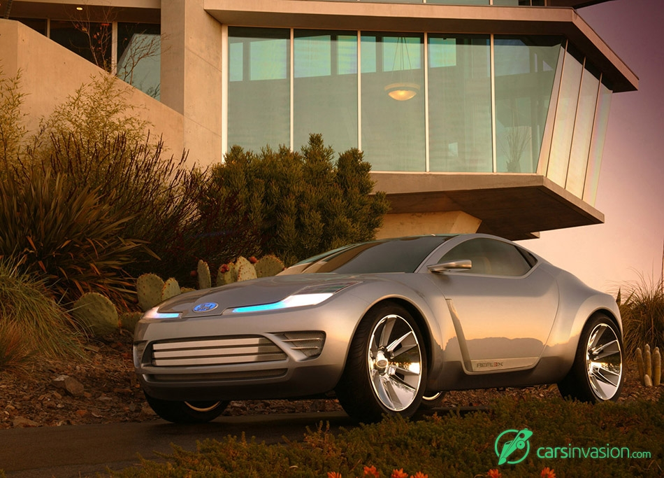 2006 Ford Reflex Concept Front Angle