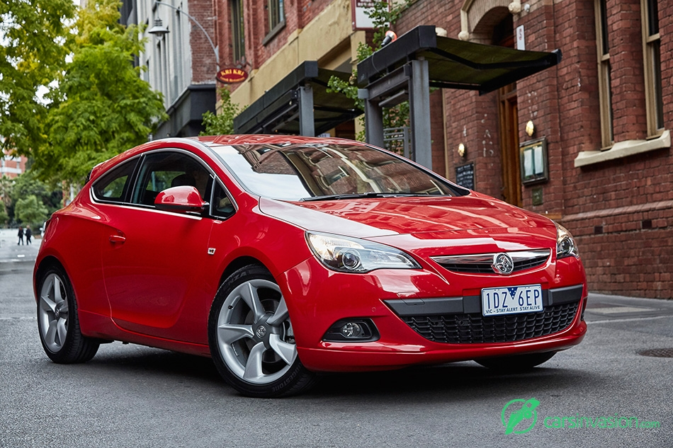 2015 Holden Astra GTC Sport Front Angle